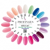 Farebnica Profinails Gel Lac LED/UV 6 (101-120)
