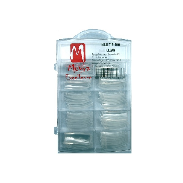 Moyra TIP box 100 ks Clear