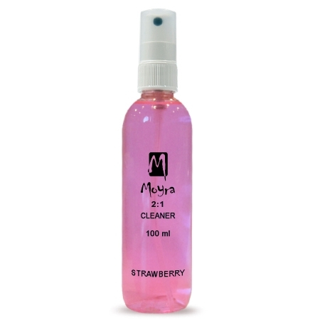 Moyra 2-1  Prep + Cleaner 100ml jahoda